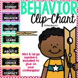 Behavior chart (chevron)