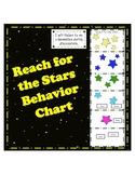 Behavior Chart with Targets - Reach for the Stars