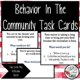 Behavior in the Community Task Cards