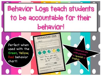 Behavior logs in English and Spanish