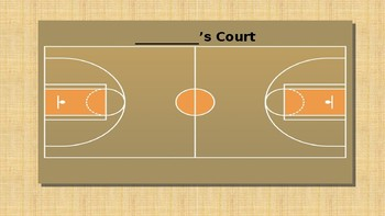 Behavior Management Basketball Court