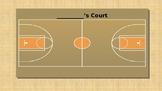 Behavior Management Basketball Court