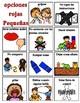 Behavior management Spanish