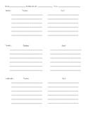 Behavior management form