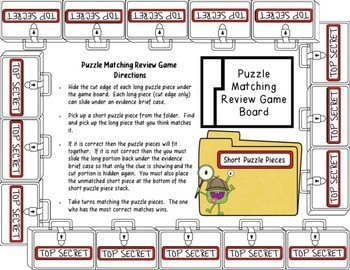 Behavior of Gases Detective's Matching Review Bundle
