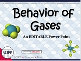 Behavior of Gases Science Power Point: Introduction and De