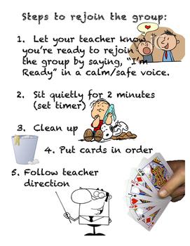 Behavior-rejoin group after tantrum