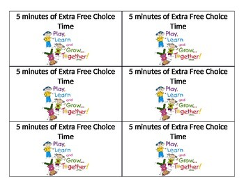 Behavior reward cards (editable)