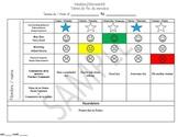 Behavior sheet&reminder