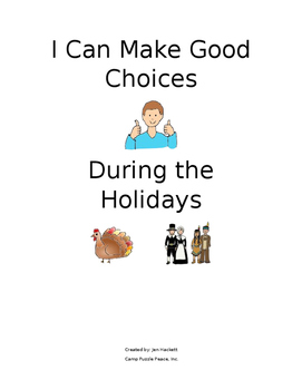 Behavior support for the holiday season.