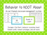 Behavior to Hoot About