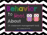 Behavior to Hoot About {Clip Chart Discipline & Coupon Reward}
