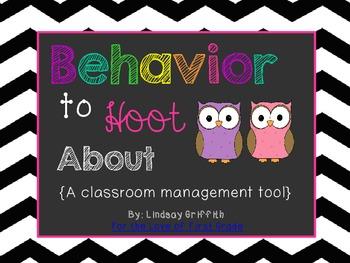 Behavior to Hoot About {Clip Chart Discipline & Coupon Reward}