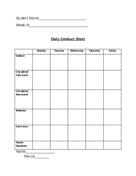 Behavior/Academic Intervention Plans for Special Education Students