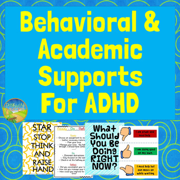 Behavioral & Academic Supports for ADHD (and other disabilities)