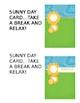 Behavioral Break Cards