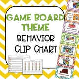 Behavioral Clip Chart (Board Game Theme)
