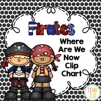 Pirate Behavioral Clip Chart