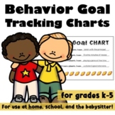 Behavioral Goal Trackers