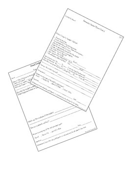 Behavioral, Injury, & Unusual Incident Report Form Pack (Printable & Editable)