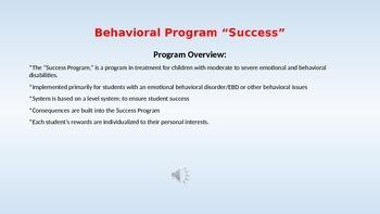 Behavioral Intervention Program