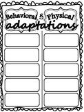 Behavioral & Physical Adaptations