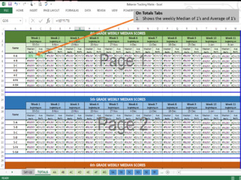 Behavioral Tracking Matrix
