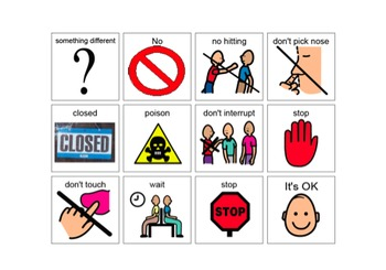 Behavioral Visuals for Students with Autism