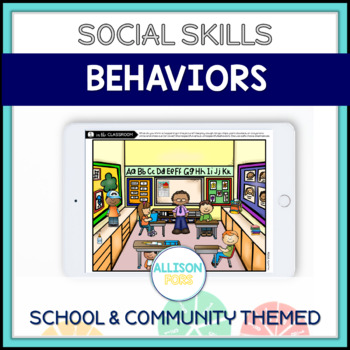 Appropriate & Inappropriate Behaviors Scenes and Cards