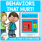 Social Story Behaviors That Hurt! Autism