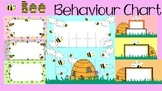 Behaviour / Behavior Chart Bee