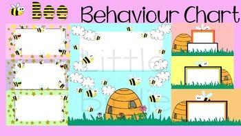 Behaviour / Behavior Chart Bee