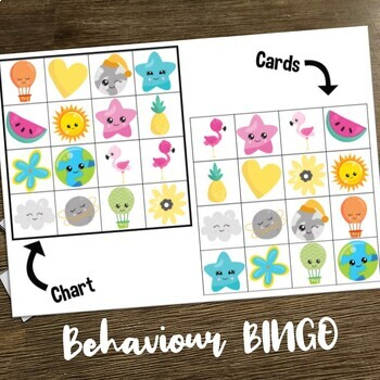 Behaviour Bingo - 30 card set