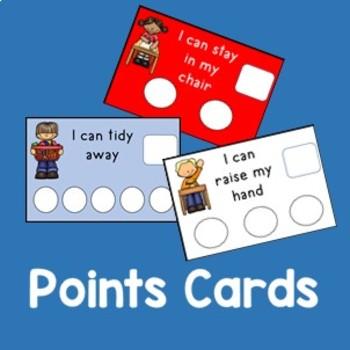 My points Card - Token rewards