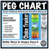 PEG CHART - BEHAVIOUR CHART - Behaviour Management
