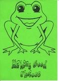Behaviour Chart - Frog Theme