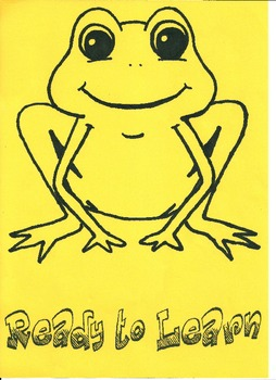 Behaviour Chart - Frog Theme