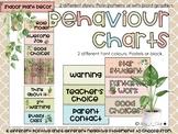 Behaviour Chart - Indoor Plant Classroom Decor -