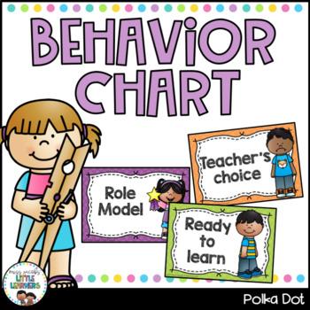 Behaviour Chart {Polka Dot}