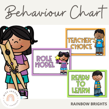 Behaviour Chart {Rainbow Theme}