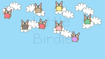 Behaviour / Behavior Chart -Themed Owls