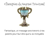 Behaviour + Classroom Signs Bundle Harry Potter in French