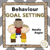 Behavior Goal Setting For Students - Assessment and Reflection Worksheets