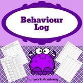 Behaviour Log