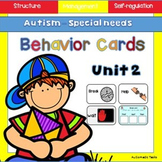 Customizable Behaviour Support Cards - Autism/Special Ed