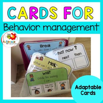 Customizable Cards 2 - Kindergarten Autism/Special needs