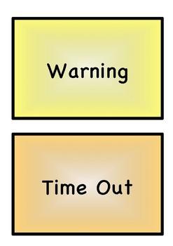 Behaviour Management Chart