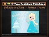 Behaviour Management Chart 'Frozen' Theme