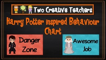 Behaviour Management Chart 'Harry Potter' Theme