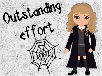 Behaviour Management Chart 'Harry Potter' Theme
